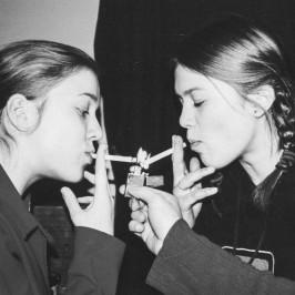 Фиксаж и сигареты