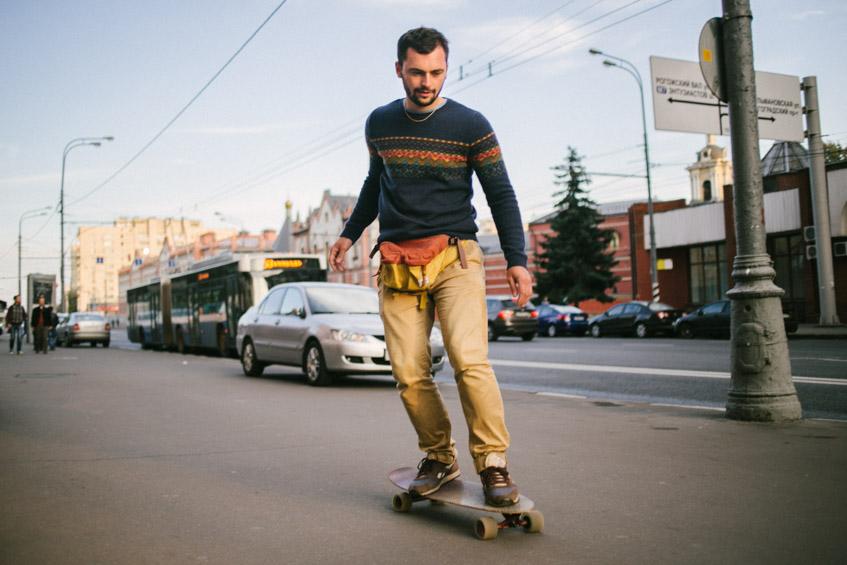 Лонгборд в Москве
