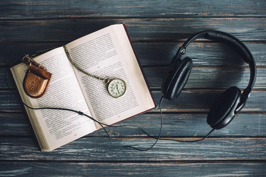Аудиокниги за работой