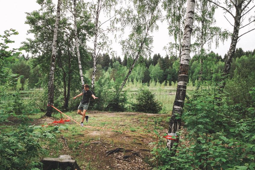 Слэклайн в Зеленограде